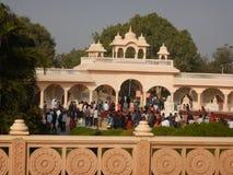 Mensen die Anand Vihar bezoeken bij shegaon-5 royalty-vrije stock fotografie