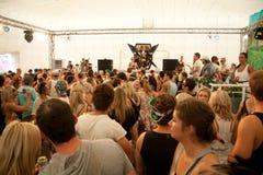 Mensen die bij FMF Brisbane 2011 dansen Royalty-vrije Stock Foto's