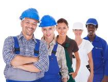 Mensen die diverse beroepen vertegenwoordigen Stock Afbeelding