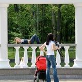 Mensen die een rust hebben Royalty-vrije Stock Fotografie