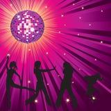 Mensen die in night-club dansen Stock Foto's