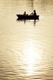 Mensen in een boot Royalty-vrije Stock Fotografie