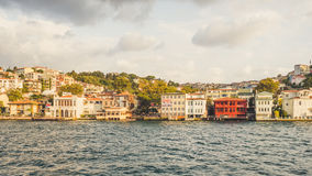 Mensen en stad van Istanboel Royalty-vrije Stock Fotografie