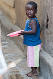 Mensen in GHANA Stock Foto's
