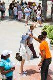 Mensen in Havana Royalty-vrije Stock Foto's