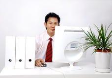 Mensen in het bureau royalty-vrije stock foto's
