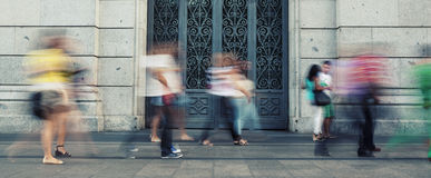 Mensen het lopen Stock Fotografie