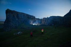 Mensen in IJsland Royalty-vrije Stock Afbeelding
