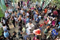 Mensen in lijn Stock Fotografie