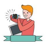 Mensen mijn hobby stock illustratie