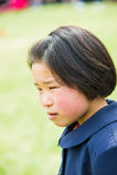 Mensen in NOORD-KOREA Stock Afbeelding