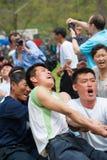 Mensen in NOORD-KOREA Royalty-vrije Stock Foto's