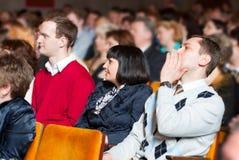 Mensen op de conferentie Royalty-vrije Stock Afbeelding