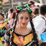 Mensen op Dia DE los Muertos in Mexico Royalty-vrije Stock Afbeeldingen
