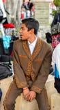 Mensen op Dia DE los Muertos in Mexico Stock Fotografie