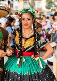 Mensen op Dia DE los Muertos in Mexico Stock Foto