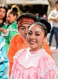 Mensen op Dia DE los Muertos in Mexico Royalty-vrije Stock Afbeelding