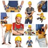 Mensen op het werk stock afbeelding