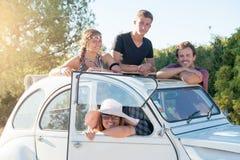 Mensen op vakanties royalty-vrije stock afbeeldingen