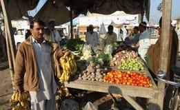 Mensen in Pakistan Stock Afbeelding