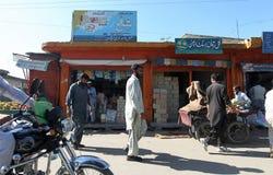 Mensen in Pakistan - het dagelijks leven Royalty-vrije Stock Afbeelding