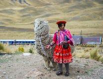 Mensen in Peru royalty-vrije stock foto