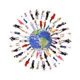 Mensen ter wereld Royalty-vrije Stock Afbeeldingen
