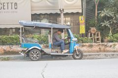 Mensen tuk-tuk bestuurders Stock Foto