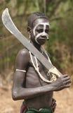 Mensen van Afrika Stock Afbeeldingen