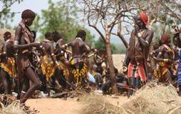 Mensen van Afrika stock afbeelding