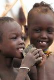 Mensen van Afrika Royalty-vrije Stock Afbeelding