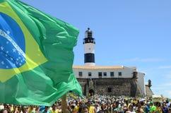 Mensen van Brazilië stock afbeelding