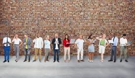 Mensen van Communicatie Concept Verbindings het Digitale Apparaten Stock Afbeeldingen