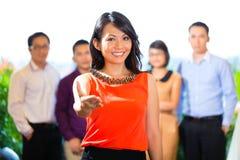Mensen van creatief agentschap of reclamebureau Royalty-vrije Stock Foto's