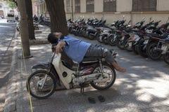 Mensen van de stad van Ho Chi MInh Royalty-vrije Stock Fotografie