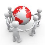 Mensen van de Wereld stock illustratie