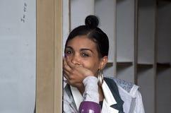 Mensen van Havana Stock Foto's