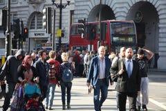 Mensen van Londen Royalty-vrije Stock Afbeelding