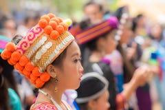 Mensen van Luang Prabang stock foto's
