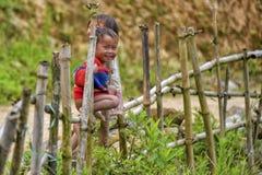 Mensen van Sa-Pa in Vietnam Royalty-vrije Stock Foto