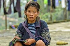 Mensen van Sa-Pa in Vietnam Royalty-vrije Stock Afbeelding