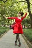 Mensen van Shanghai de rijkste stad in China Stock Foto