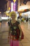 Mensen van Shanghai de rijkste stad in China Royalty-vrije Stock Fotografie