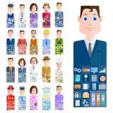 Mensen van verschillend Beroep vector illustratie