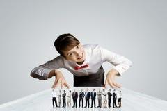 Mensen van verschillende beroepen Stock Fotografie