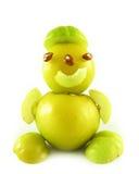 Mensen van vruchten van kweeperen royalty-vrije stock foto
