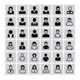 Mensenpictogrammen stock illustratie