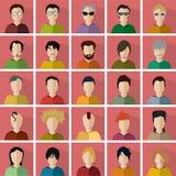 mensenpictogrammen Stock Afbeeldingen