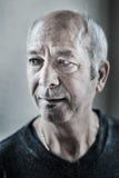 Mensenportret op middelbare leeftijd Royalty-vrije Stock Afbeelding