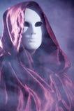 Mensenwhit een Venetiaans Carnaval-masker 3 Stock Afbeelding